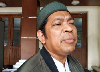 Rektor UIN Sumut, Prof Dr Saidurrahman di Kemenko Polhukam, Jakarta.