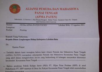 Tolak Pendirian PMKS PT HPP